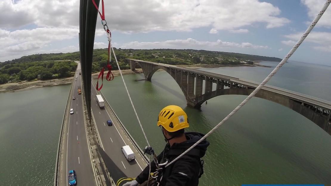 Entretien Pont de l'Iroise juin 2015