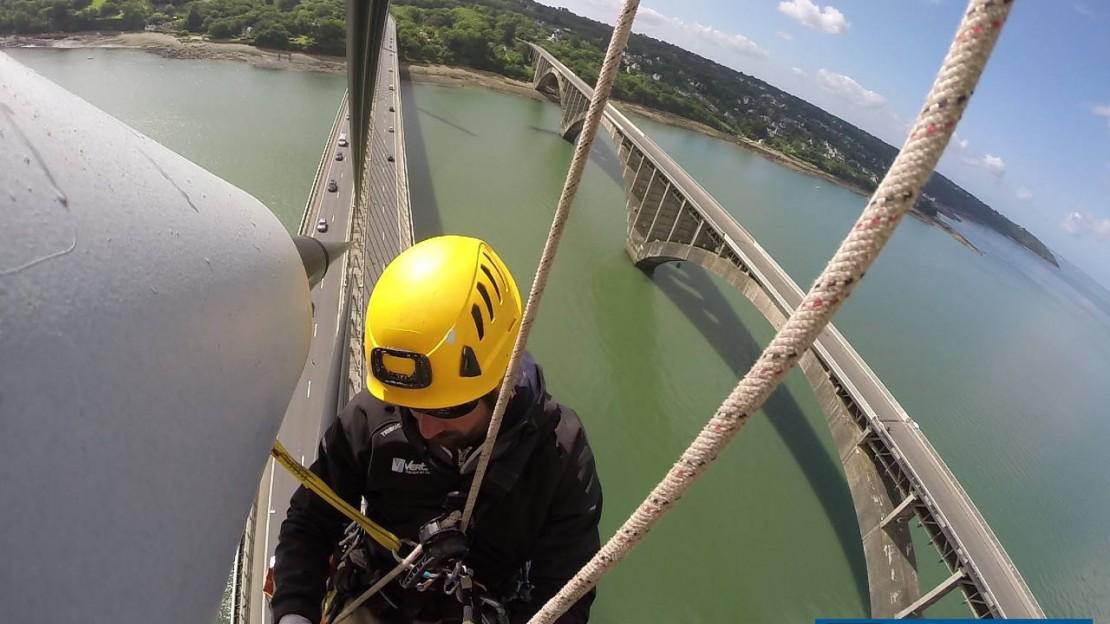 Vertica Pont de l'Iroise juin 2015