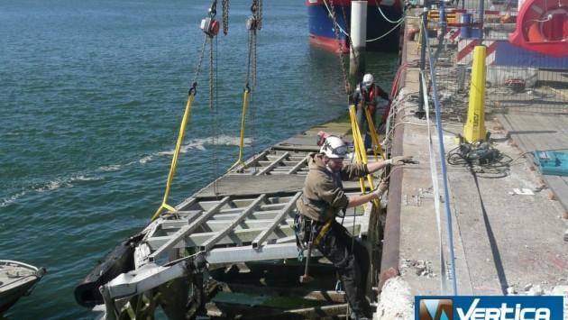 Chantier de réparation Pord de Lorient-Keroman