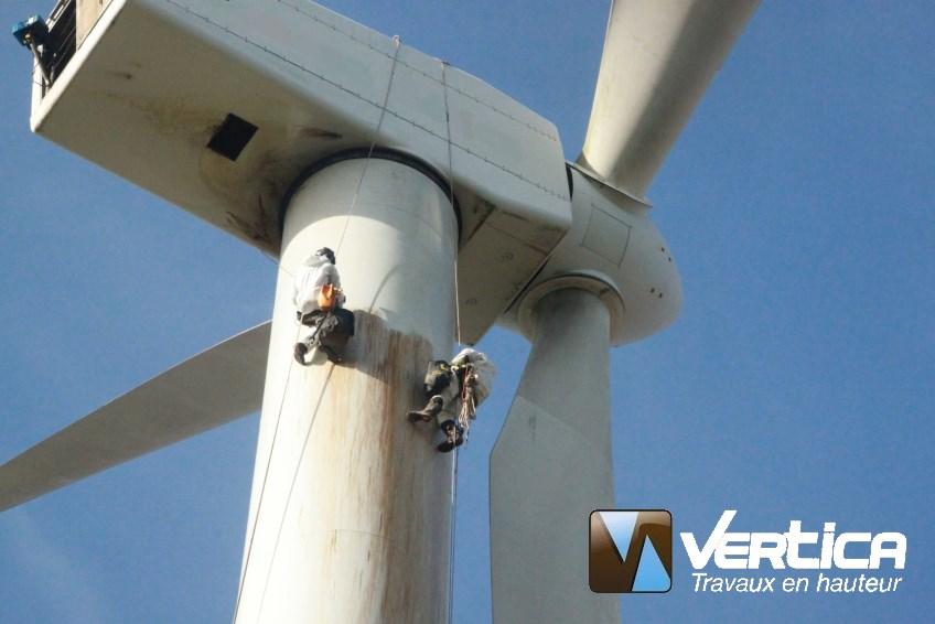 Maintenance éolienne VERTICA