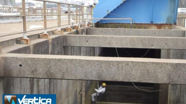 chantier d'inspection forme de radoub N°3 - Brest