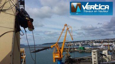 Travaux de soudage port de Brest