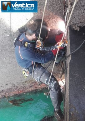 travaux de soudage port Roscoff