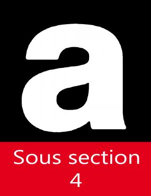 Qualification sous-section 4