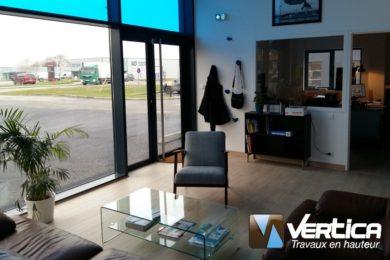 accueil bâtiment Vertica Brest