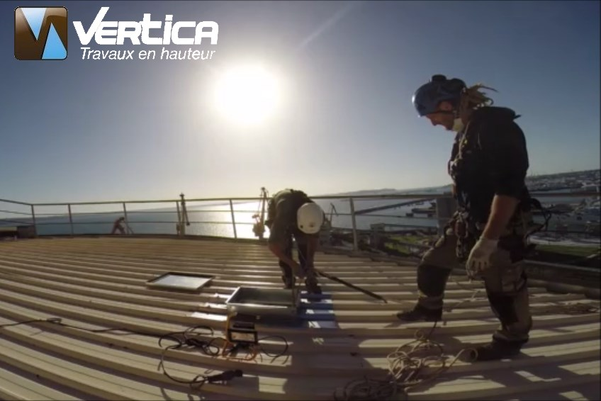 Vertica Travaux en hauteur sur silo