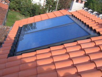 Capteur solaire Frisquet
