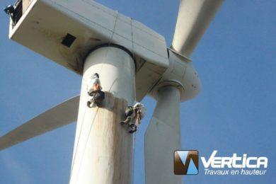 Maintenance éolienne terrestre