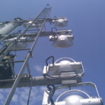 installation des projecteurs - Brest
