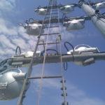 Pylone de projecteurs - Brest