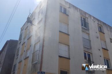 lavage hp façade