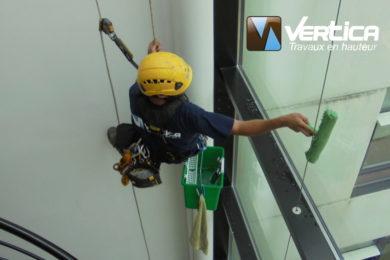 entreprise nettoyage vitre en hauteur