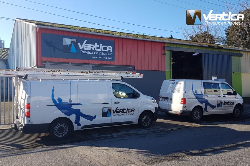 Vertica agence de Lorient