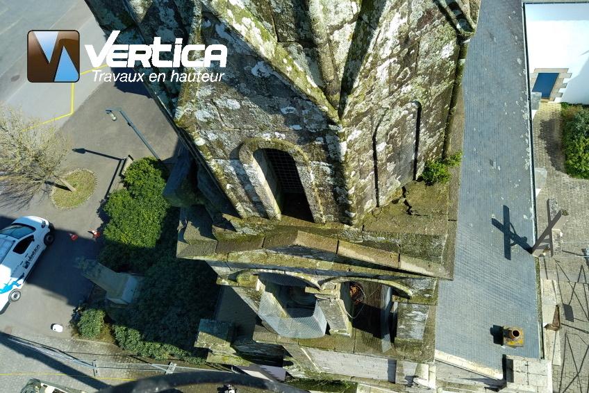 Restauration clocher Inzinzac